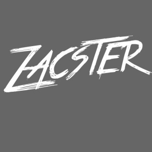 Zacster Apparel White Scratchy Design png