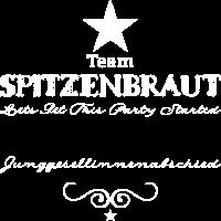 Team Spitzenbraut Weiß (personalisierbar)