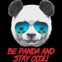 Animal Design Panda Stay Cool - RAHMENLOS Geschenk zum Geburtstag