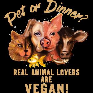 Pet or Dinner - RAHMENLOS Vegan Collection