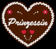 "Oktoberfest & Wiesn Shirt: Lebkuchenherz ""Prinzessin"""