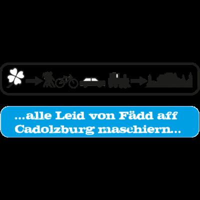 Fürth nach Cadolzburg - Auszug aus dem Schborcher Lied, in Bildern - Fürth,Franken,Cadolzburg,Bayern