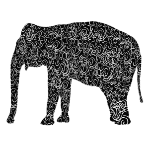 Elefant als Illustration