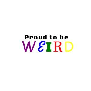 Proud to be weird Man t-shirt