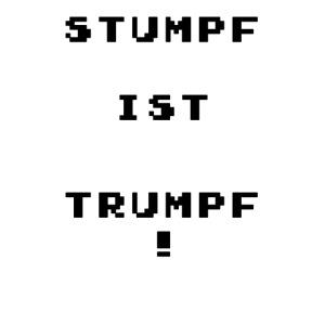 stumpf ist trumpf png