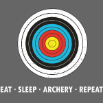 Eat Sleap Archery Repeat