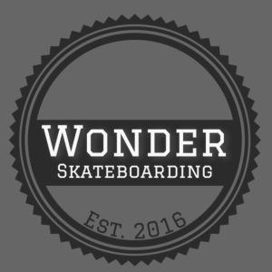 Wonder unisex-shirt round logo