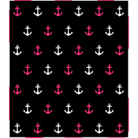 Muster aus Ankern 2-farbig (+weiß)