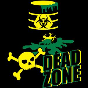 Toxic Biohazard Devil Skull Nuclear Dead Zone