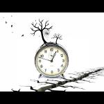 Uhr mit Baum