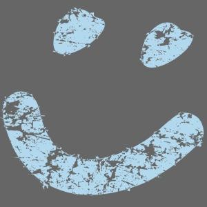 Smiley vintage hellblau png