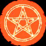 Pentagramm Feuer