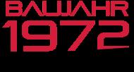Jahrgang 1970 Geburtstagsshirt: baujahr 1972