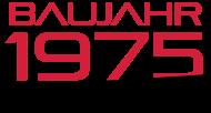 Jahrgang 1970 Geburtstagsshirt: baujahr 1975
