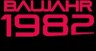 Jahrgang 1980 Geburtstagsshirt: baujahr 1982