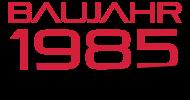 Jahrgang 1980 Geburtstagsshirt: baujahr 1985