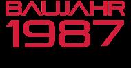 Jahrgang 1980 Geburtstagsshirt: baujahr 1987