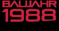Jahrgang 1980 Geburtstagsshirt: baujahr 1988