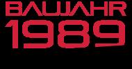 Jahrgang 1980 Geburtstagsshirt: baujahr 1989
