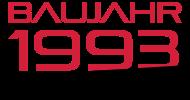 Jahrgang 1990 Geburtstagsshirt: baujahr 1993