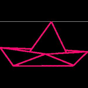 Paperboot Pink Vector