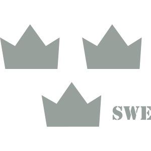 Tre kronor gr gray rgb swe