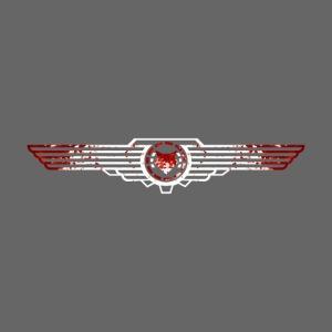 Flügel männlich Deluxe