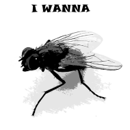 I WANNA FLY Shirtdesign Spreadshirt © cso-munich.de