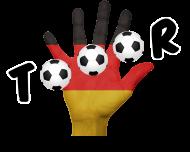 Fan-Shirt: Tor Deutschland