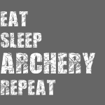 Eat Sleep Archery Trash2