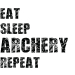 Eat Sleep Archery Trash1