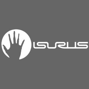 Isurus Hand & Logo White