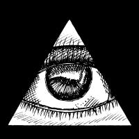Dreieck Auge