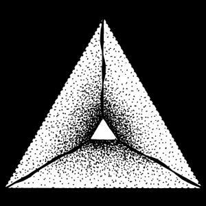 Dreieck Abstrakt Punkte