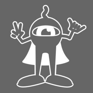 Punky Super Hero (White)