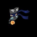 Ninja Cat_gluurt vanuit shirt_EnChantalled.png