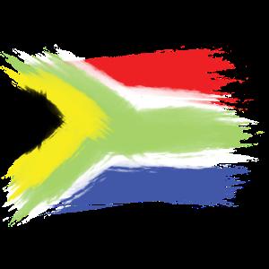 Südafrika flagge Kapstadt