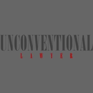 Unconventional Lawyer - T-shirt per avvocati (men)