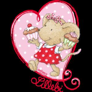 Kikibell Herz Muffin