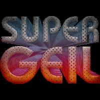 Super Geil moderner 3D Text Schrift