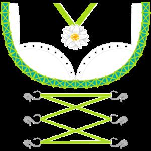 Dirndl Grün