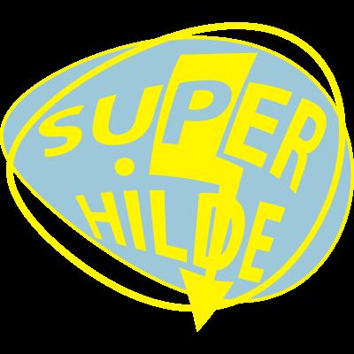 superhilde - super hilde emblem - superhilde,super,mathilde,hildrun,hildegund,hildegard,hilde,hilda,gerhild,brunhilde,Blitz