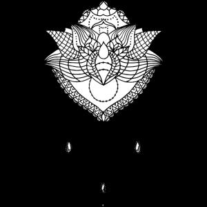 Lotusbluete Spitze