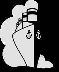 Vatertag Shirt: Ocean Liner Kreuzfahrt | Schiff | Pagagier