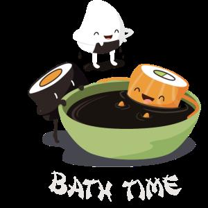 Sushi Bath Time