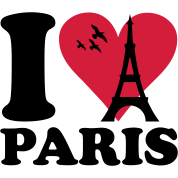 I love Paris - France