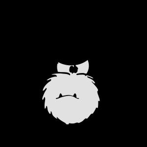 Monster Smuffel Grimmig