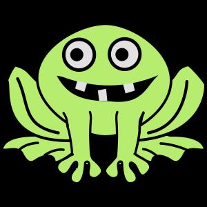 Ausserirdischer Frosch