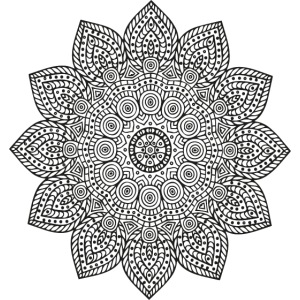 Mandala geometria sacra geometric