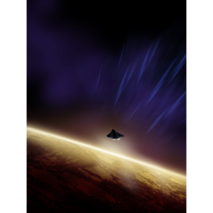 Fly-by in Space